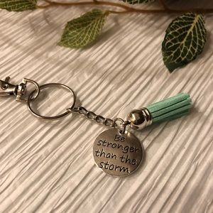 Accessories - Be Stronger than the Storm Keychain